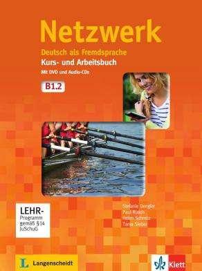 Portada de Netzwerk B1 Kursbuch Mit Dvd Und 2 Audio-cds B1 (2014)