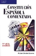 Constitucion Española Comentada (23ª Ed) (2004)