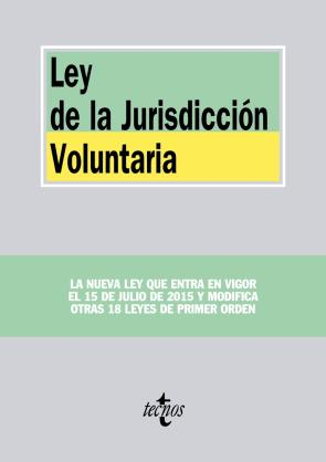 Ley De la Jurisdiccion Voluntaria (2015)