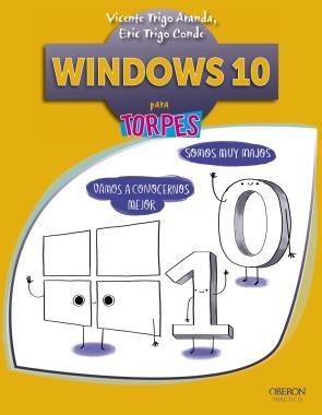 Portada de Windows 10 para Torpes (2015)
