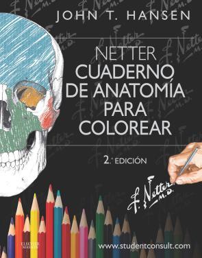 Hansen, Netter. Cuaderno De Anatomia para Colorear  (2ª Ed.) (2015)