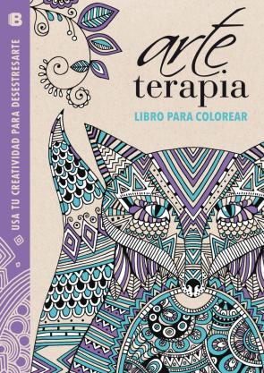 Arte Terapia: Libro para Colorear: Usa Tu Creatividad para Desestresarte (lila) (2014)
