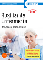Auxiliar De Enfermeria De Osakidetza-servicio Vasco De Salud. Temario General Volumen 2 (2015)