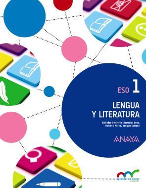 Portada de Lengua y Literatura 1º Eso (2015)