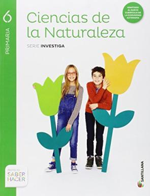 Ciencias Naturales 6º Primaria Investiga Saber Hacer Ed 2015 (2015)