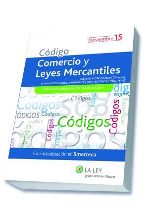Portada de Codigo Comercio y Leyes Mercantiles Edicion 2015 (2015)