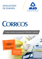 Personal Laboral De Correos y Telegrafos: Simulacros De Examen (2015)