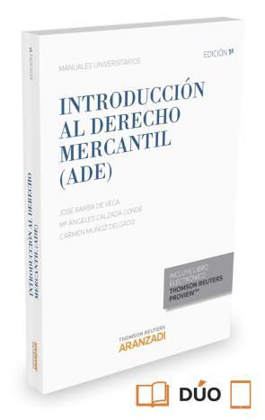 Introduccion Al Derecho Mercantil (ade) 2015 Formato Duo (2015)