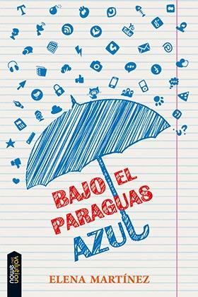 Portada de Bajo el Paraguas Azul (2015)