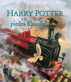 Harry Potter y la Piedra Filosofal (ilustrado) (2015)