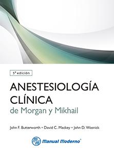 Portada de Anestesiologia Clinica De Morgan y Mikhail (5ª Ed.) (2014)