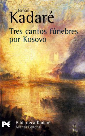 Portada de Tres Cantos Funebres por Kosovo (2004)