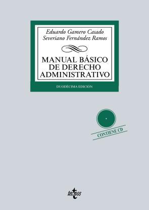 Portada de Manual Basico De Derecho Administrativo (12ª Ed.) (2015)