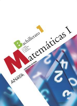 Matematicas I. Bachillerato (2008)