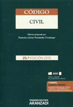Codigo Civil (25ª Ed.) (duo) (2015)