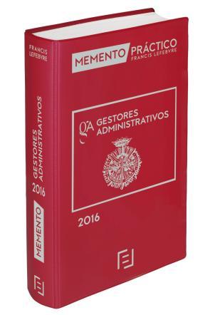 Memento Practico Gestores Administrativos 2016 (2015)