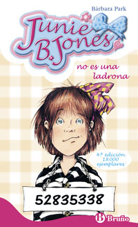 Portada de Junie B, Jones No Es Una Ladrona (2015)