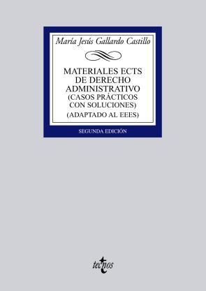 Materiales Ects De Derecho Administrativo: Casos Practicos con So Luciones (adaptado Al Eees) (2ª Ed) (2011)