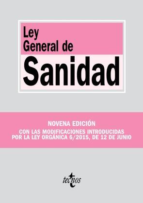 Ley General De Sanidad (9ª Ed.) (2015)