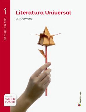 Literatura Universal 1º Bachillerato Serie Conoce Ed. 2015 (2015)