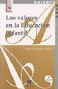 Portada de Los Valores De la Educacion Infantil (1996)