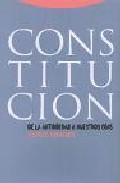 Constitucion: De la Antiguedad a Nuestros Dias (2001)