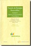 Tratado De Regulacion De Energias Renovables (2 Vol.) (2010)
