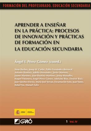Aprender a Enseñar en la Practica: Procesos De Innovacion y Pract Icas De Formacion en la Educacion Secundaria (2010)