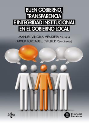 Portada de Buen gobierno, transparencia e integridad institucional en el gobierno local (2016)